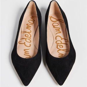 Sam Edelman black suede Sally Flats size 9.5